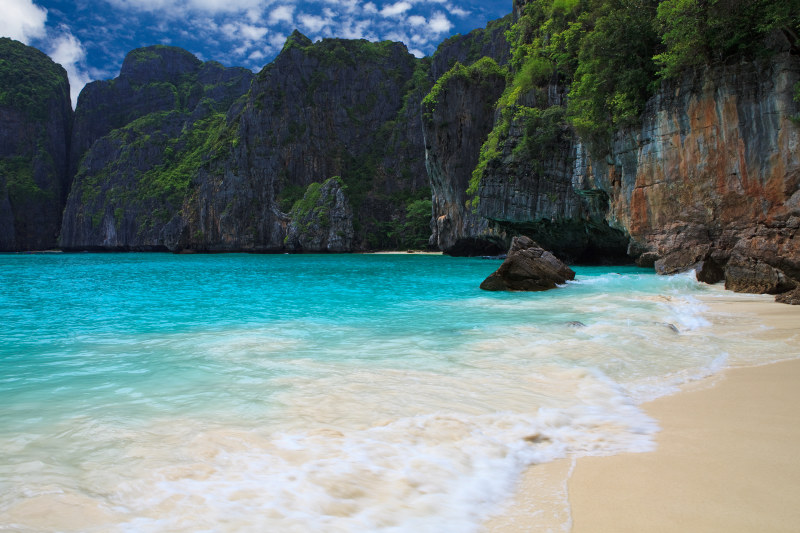 Maya Bay, beach in Thailand
