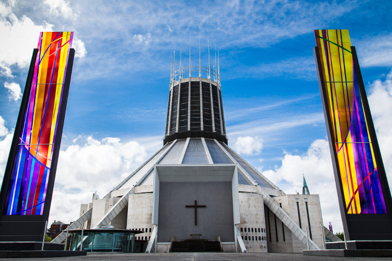 The Liverpool Metropolitan Cathedral, Great Britain
