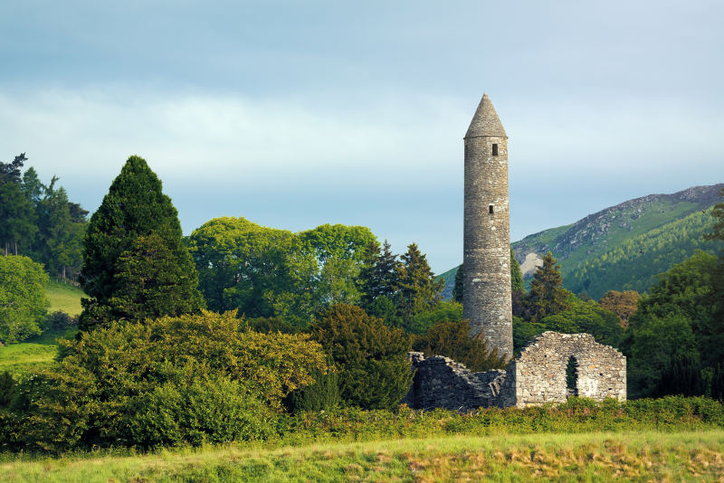Glendalough, County Wicklow.