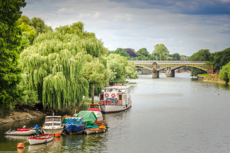 Thames River at Richmond, Greater london, United kingdom