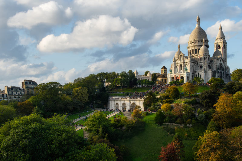 Sacre-Coeur monument, Paris, France