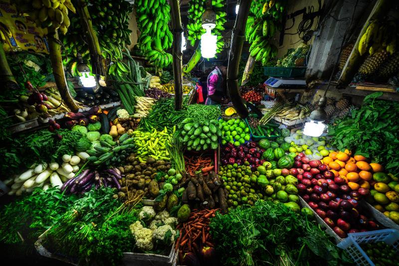 fresh food market in sri lanka