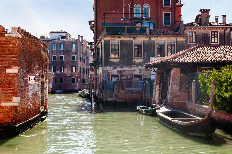 Cannaregio neighbourhood, Venice, Italy
