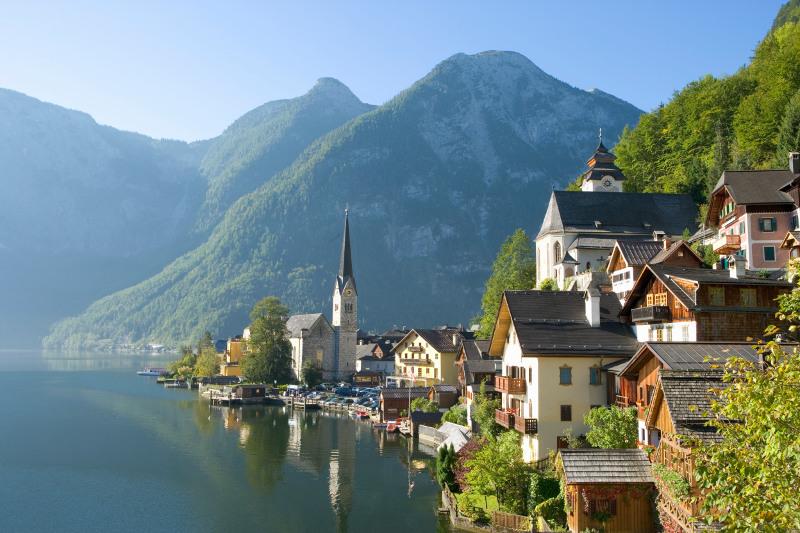 lakeside village of Hallstatt
