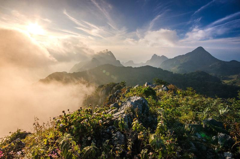 Chiang Mai hills, Thailand