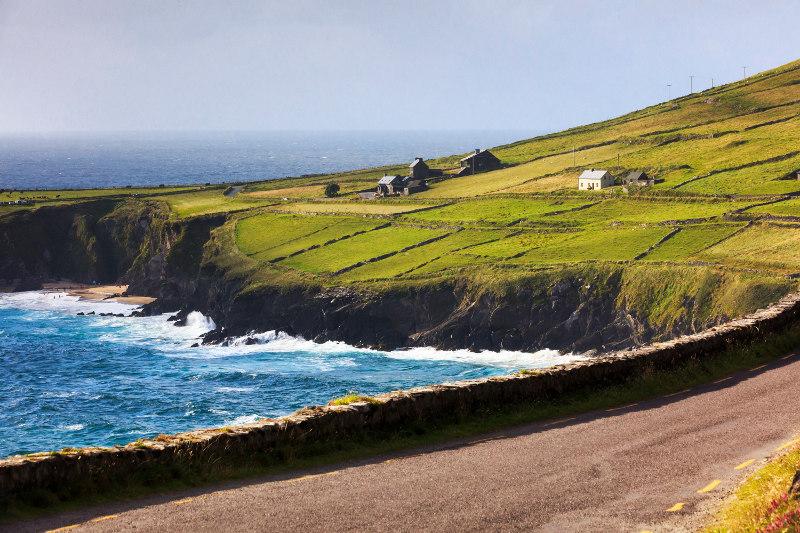 Sea Head along the Dingle peninsula, Ireland