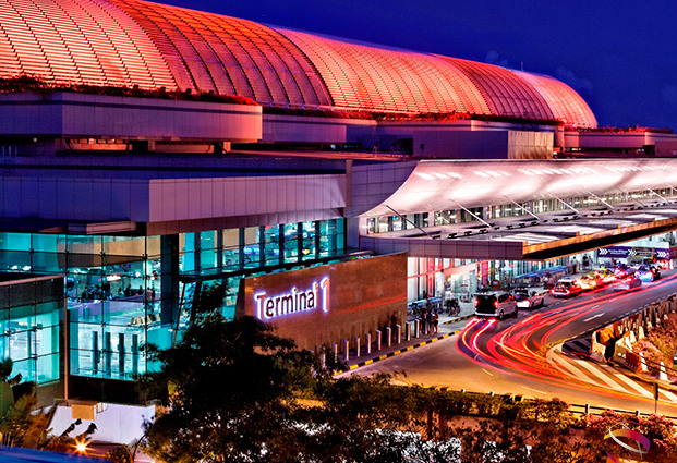 Singapore Changi Airport Terminal 1 Kerbside