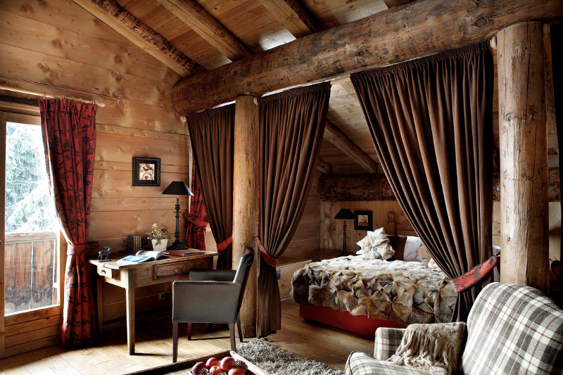 luxury cosy room in the French Alps