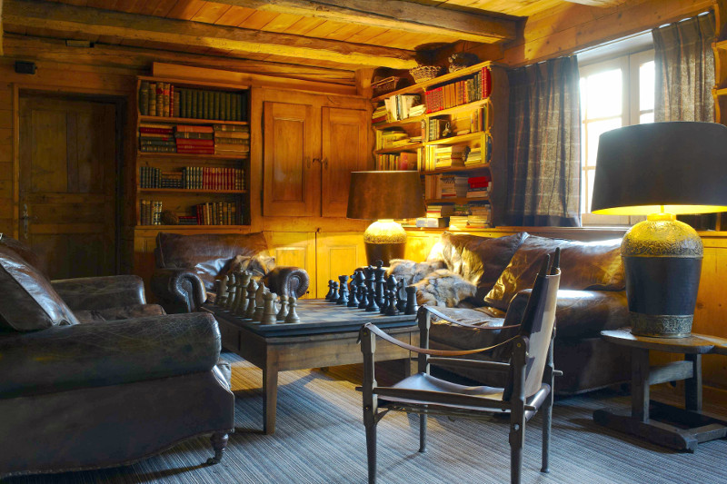 cosy room in french alps hotel