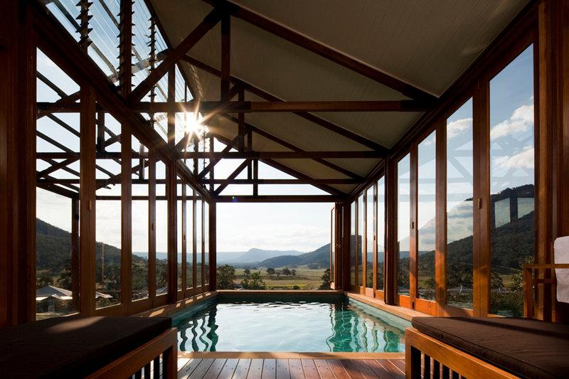 pool wolgan valley resort blue mountains