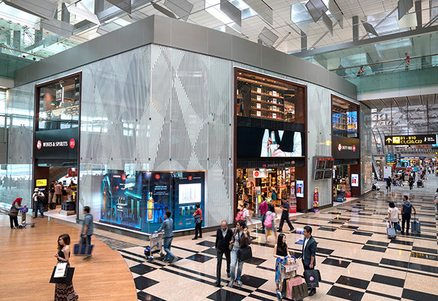 Singapore Changi Airport shopping