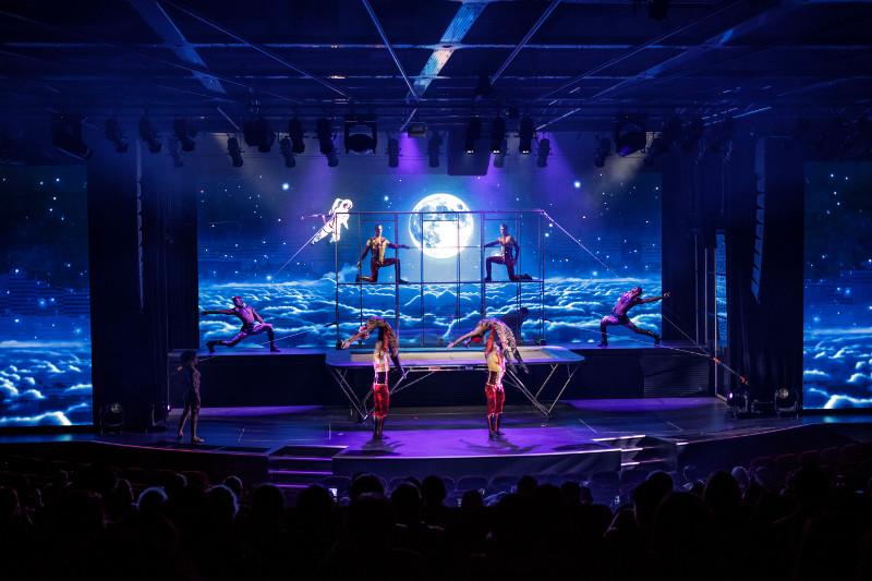 Theatre aboard Dream Cruises cruise ship