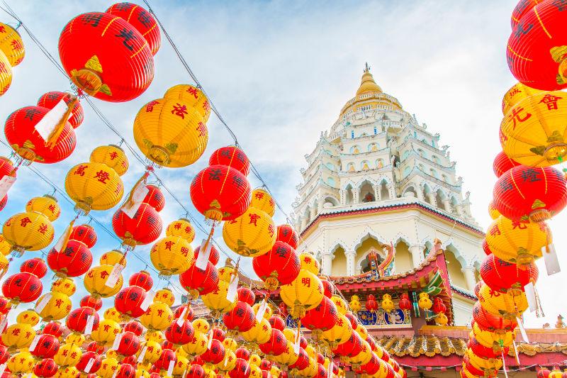 lanterns in Malaysia