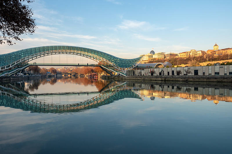 Tbilisi's Bridge of Peace