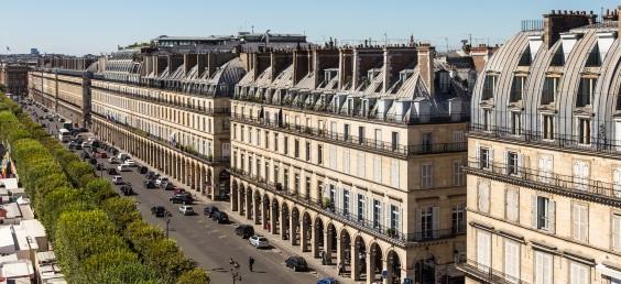 Paris Hotel, Rue de Rivoli