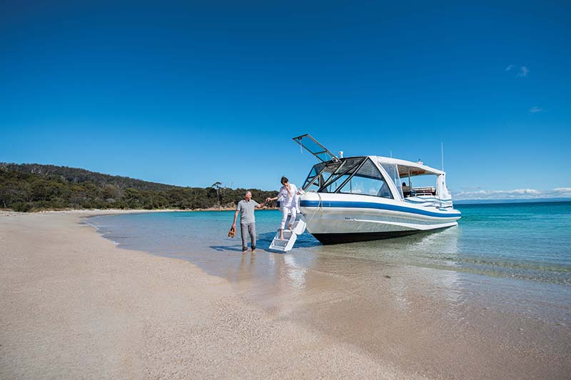 boat trip freycinet