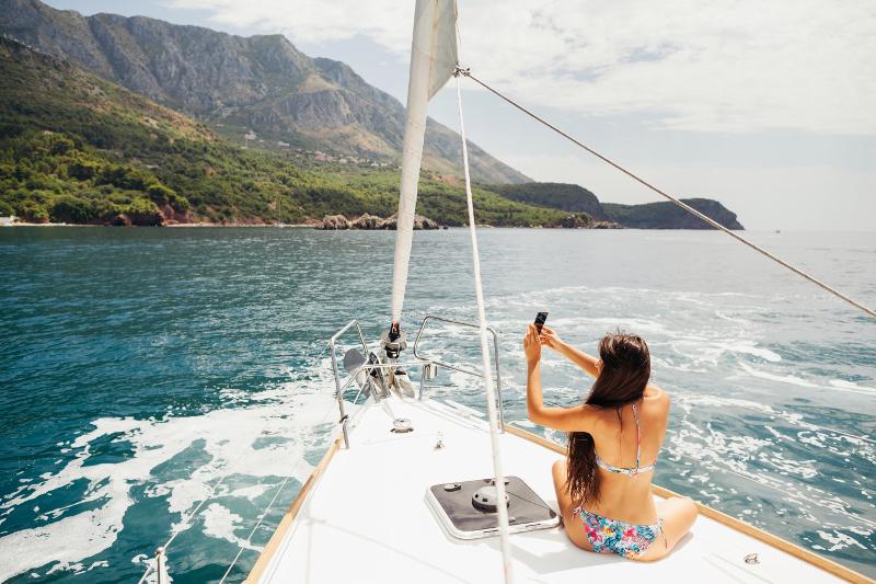 Sailing Montenegro.