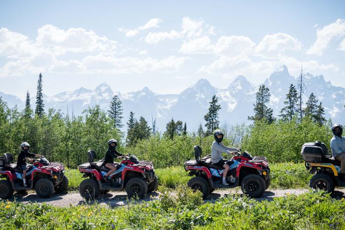 scenic safaris ATV tour grand tetons wyoming
