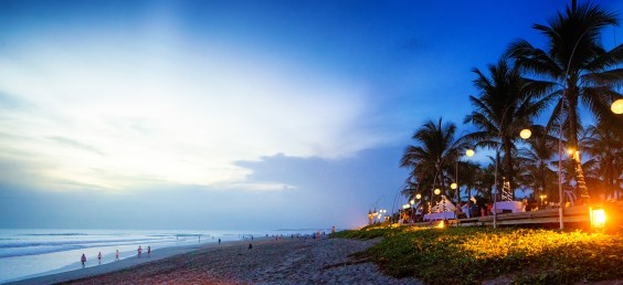 Beach-side resort in Seminyak