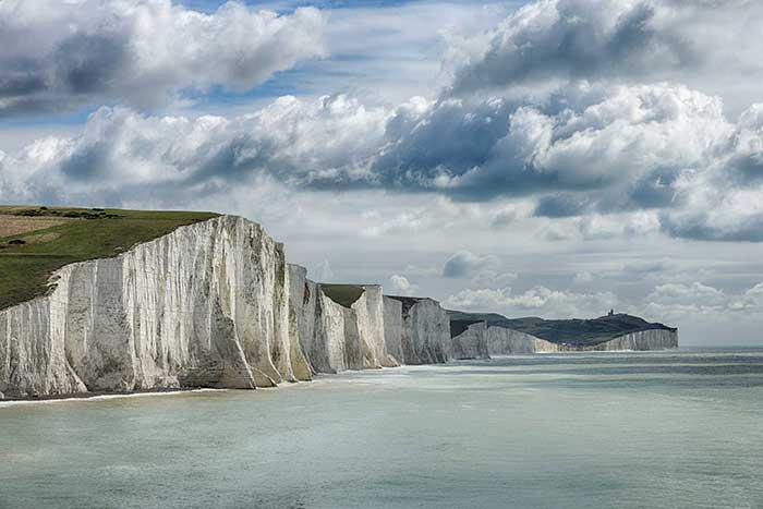 seven sisters chalk cliffs sussex