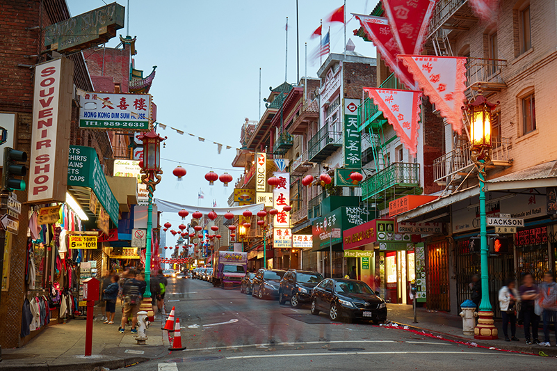 San Francisco's historic Chinatown is decked out for Lunar New Year