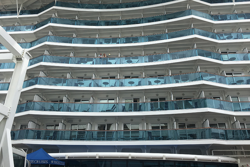 Exterior of Majestic Princess