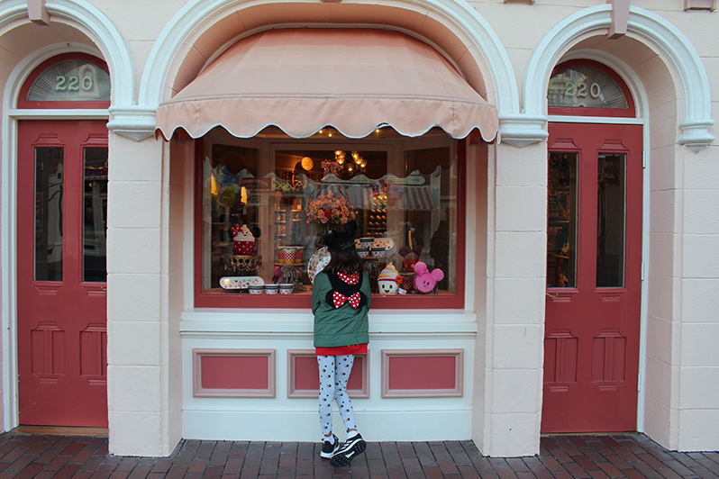 stores on Main Street, U.S.A., Disneyland Resort