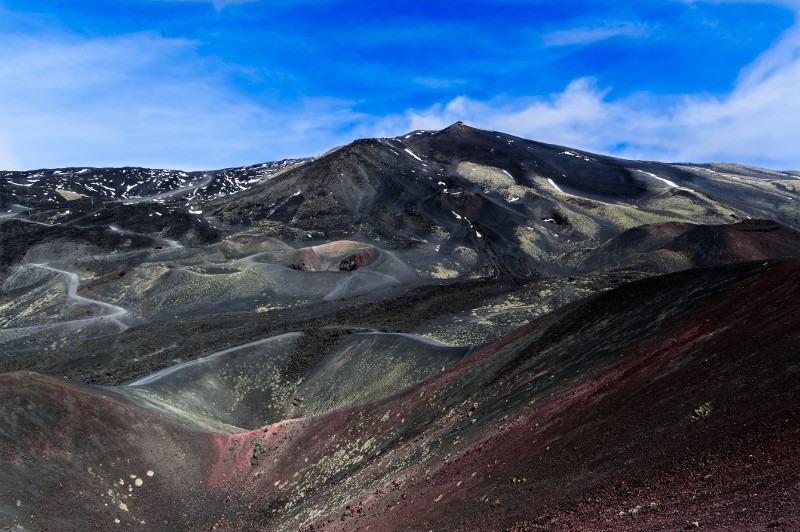 Explore the otherworldly environs of the Mt Etna volcano.