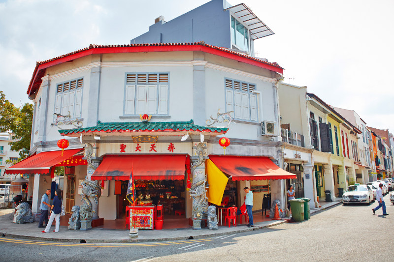 Intriguing shops in Singapore's trendy Tiong Bahru area.