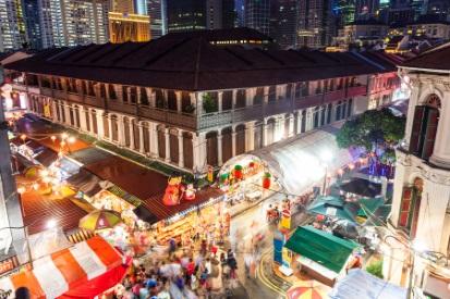 Singapore Shopping Markets