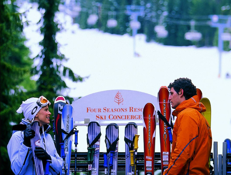 Four Seasons Resorts Ski Service Whistler