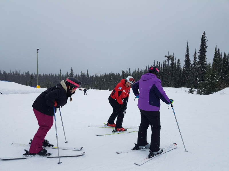 Ski Instructor at Big White Resort