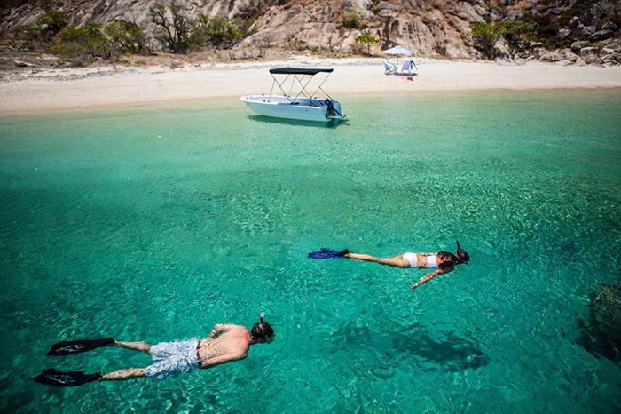 snorkelling lizard island great barrier reef