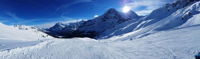 Snowy Landscape: Mt Hutt Skiing