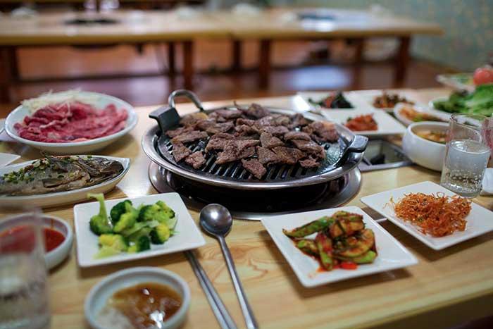 So kalbi Korean BBQ