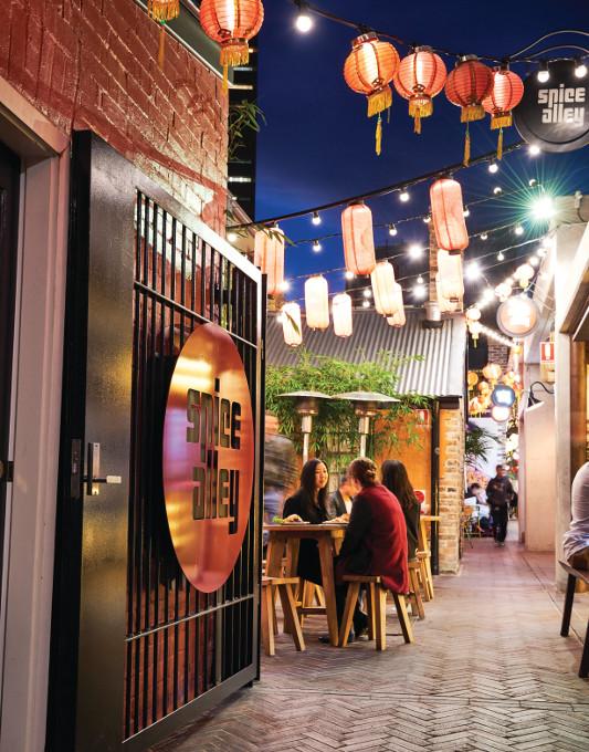 Spice Alley, Sydney.