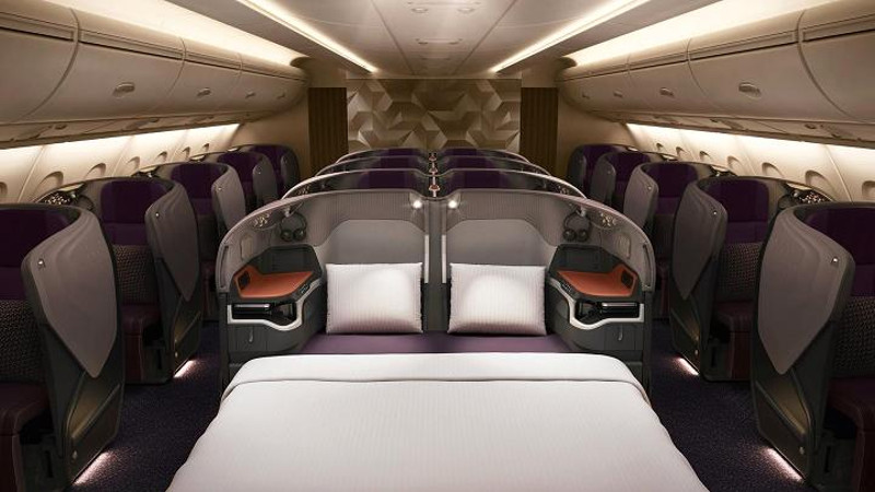 First Class Singapore Airlines A380