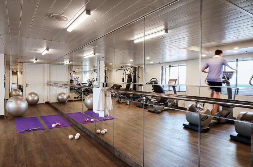 gym on board silver cloud