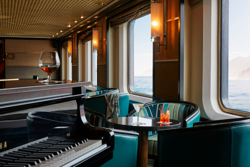 lounge onboard silver cloud cruise ship