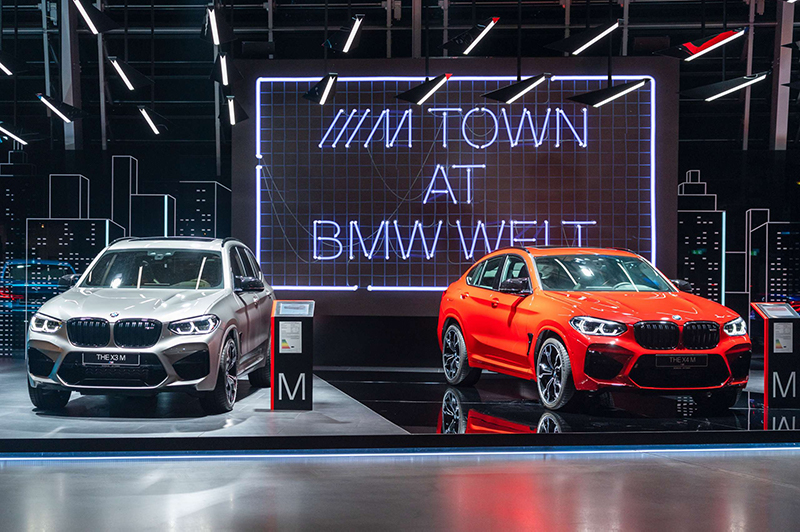 MTown exhibition at BMW Welt