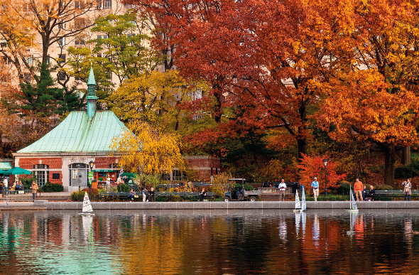 Conservatory Water in New York City