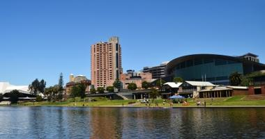 Adelaide city view