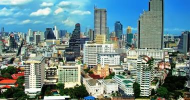 Beautiful Bangkok Skyline