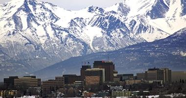 Anchorage skyline