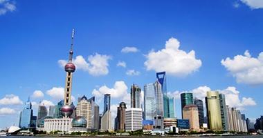 Shanghai city skyline