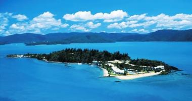 Aerial view of Daydream Island