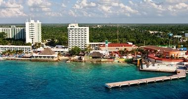 High rises and Condos in Cozumel