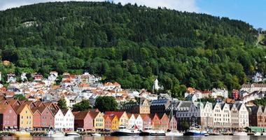 Beautiful Bergen Harbour