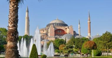 Visit the mosque of Hagia Sophia
