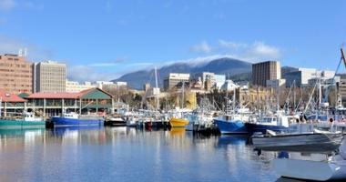 View of Hobart Harbour